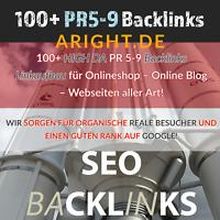 SEO Backlinks aufbauen 100 + DEUTSCHE manueller Linkaufbau High DA dofollow
