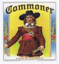 Commoner, original outer cigar box label, reading, PA