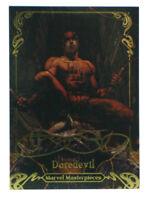 2018 Upper Deck Marvel Masterpieces Daredevil Gold Signature Card #80 Bianchi