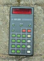 DDR Taschenrechner MR 201 VEB Funkwerk Erfurt RFT Netzteil 1980