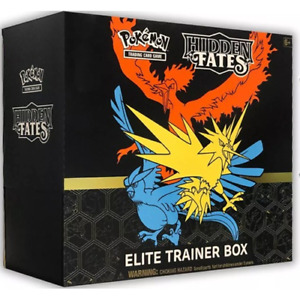 Pokemon Elite Trainer Box Hidden Fates Sun and Moon 11.5 Englisch