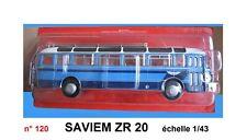 n° 120  SAVIEM ZR 20   année 1958   Autobus Autocar 1/43 Neuf Boite