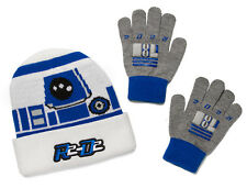 Licensed Star Wars R2-D2 Beanie and Glove set for Kids