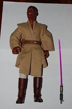 "Mace Windu 12"" Figure-Hasbro-Star Wars 1/6 Customize Side Show"