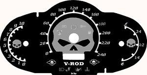 Harley Davidson V Rod VRSCA, VRSCB Fit 07-13 HD Skull