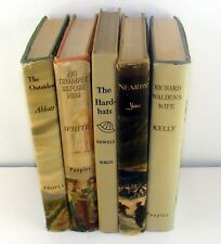 Lot of 5 Vintage Hb Books 1947-1955 Elizabeth Yates Jane Abbott Nelia Gardner
