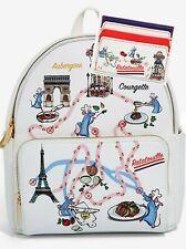 Danielle Nicole Disney Pixar Ratatouille Map Mini Backpack Bag Purse Cardholder