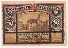 Billets de Necessite Montagne de Dieu En Silésie 50 Pfennig 1921 Boguszów Polska