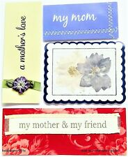 MAMBI - ME & MY BIG IDEAS PEGATINAS SUAVES LETRAS - SS-014 - MOM MUM MADRE