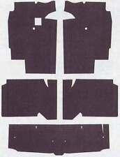 1966-1971 FORD TORINO & FAIRLAIN CARPET UNDERLAY INSULATINKIT - Made In USA