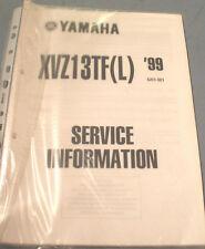 1999 2012 yamaha royal star venture xvz13t service manual repair manuals owner s pdf