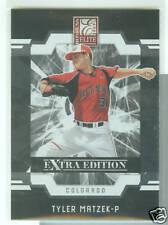 Tyler Matzek Colorado 2009 Donruss Elite Extra Edition