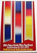 James Rosenquist  Poster for a New York City Film  Festival IN LC 16x11 Unsigned