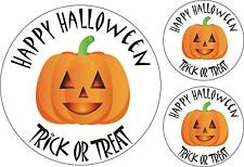 Set 3x sticker decal car bike halloween spooky kid happy trick treat