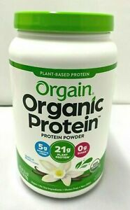 ORGAIN ORGANIC PLANT BASED PROTEN POWDER - VANILLA BEAN (2.03 lbs) - BRAND NEW