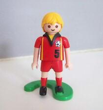 PLAYMOBIL (V584) SPORT - Football Equipe Nationale Belgique + Support 4706