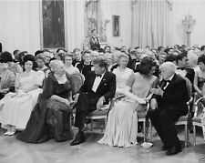 President John F. Kennedy and Jackie with Nobel Laureates 1962 New 8x10 Photo