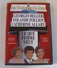 DVD CE QUE FEMME VEUT - Georges BELLER / Yolande FOLLIOT