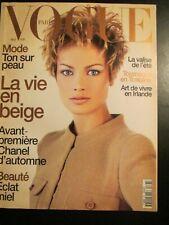VOGUE Paris 5/96 Carolyn Murphy JEANLOUP SIEFF Satoshi Saikusa MICHAEL THOMPSON