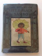 "RARE 1928 Little Black Sambo Hardback 113 Pages by Helen Bannerman 4"" x 5.5"""