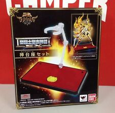 Bandai Tamashii Saint Seiya Cloth Myth EX Soul of Gold God Base Stage SOG Set