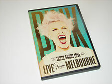 PINK FROM MELBOURNE - THE TRUTH ABOUT LOVE TOUR - DVD  ***VERY NICE***