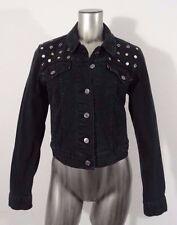 Levi's studded women's trucker denim jean jacket blue L