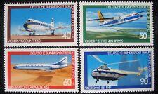 B0 184  BERLIN 1980 Michel 617 - 620 Jugend Luftfahrt postfrisch