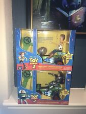 Thinkway Toy Story Interactive Buddies RC Buzz Lightyear And Woody