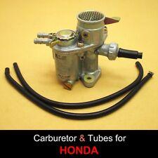Honda Cub C50 C65 C70 C50M C65M C70M Carburettor High Quality Taiwan + Tubes