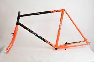 BASSO mountain steel frame and fork 90s MADE IN ITALY ! COLUMBUS ! 26'