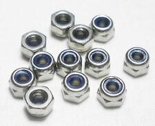20pcs M3 Nylon Insert Lock Hex Nuts Slip-resistant For Tyre Robot  F01985-20