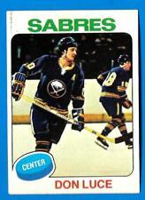 1975-76 Topps DON LUCE (ex+) Buffalo Sabres