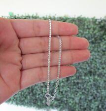 1.00 CTW Diamond Tennis Bracelet 18k White Gold B63 sep