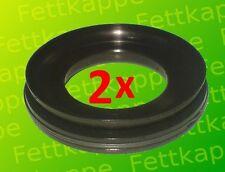 2 x Nutring - Dichtring Knott - Peitz - BPW 62/35/12 (7)