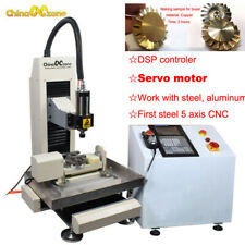 Steel Cnc 3040 5axis 22kw Machine Engraving Cutting Router For Steel Metal Diy