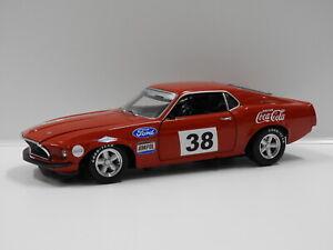 """1:18 1969 Ford Boss 302 Trans Am Mustang (A.Moffat) #38 """"The Boss' First Race"""" W"""