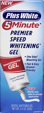 Plus White Premier 5 Minute Speed Teeth Whitening Gel Oral Care 2 Oz Single Pack