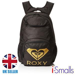 Roxy Women's Shadow Swell Solid Logo Backpack
