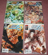 FANTASTIC FOUR - TRUE STORY COMIC BOOK - ISSUES 1-4 - COMPLETE SERIES