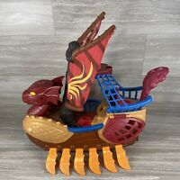 "VINTAGE 2010 FISHER-PRICE IMAGINEXT SEA SERPENT VIKING PIRATE SHIP BOAT 13.5"" G9"