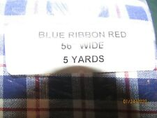 """Longaberger EASTER PLAID Fabric//Material YARD ~45/"""" Wide x 36/"""""""