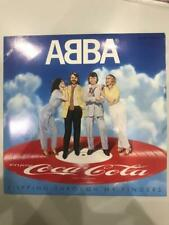 "ABBA ""Slipping Through My Fingers"" 1981 JAPAN ""Coca-Cola"" Picture Vinyl JAPN F/S"