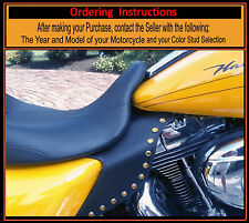 Harley Saddle Shield Touring Jewel Colored Studded Mid Frame HEAT Deflectors USA