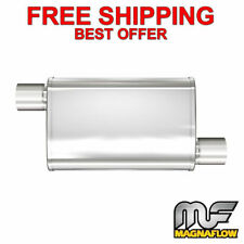 "MagnaFlow XL - 3 Chamber Stainless Steel Turbo Muffler - 2.5"" O/O - 13236"