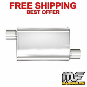 "MagnaFlow XL - 3 Chamber Stainless Steel Turbo Muffler - 2.5"" O/O - 13236"