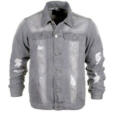 Mens Loyalty & Faith Ripped Distressed Classic Western Denim Jean Jackets, BNWT