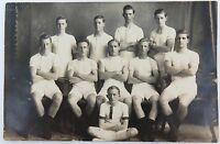 .RARE c1917 REAL PHOTO POSTCARD IPSWICH GRAMMAR SCHOOL, ATHLETICS. J A HUNT
