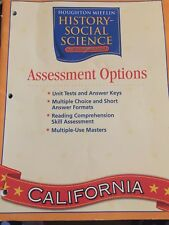 Houghton Mifflin Social Studies California: Assessmnt Opt grade 2