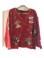 Christopher Radko Christmas Sweater New
